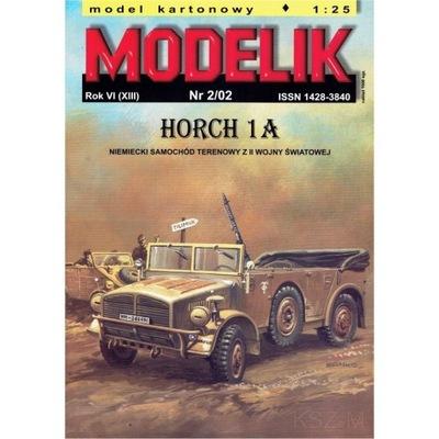 Modelik 2/02 - Samochód terenowy Horch 1a 1:25