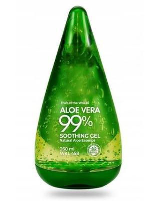 Żel Aloesowy Aloes Naturalny Aloe Vera 99% 260ml