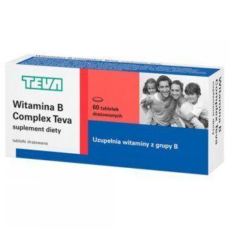 Witamina B Complex 60 tabletek TEVA