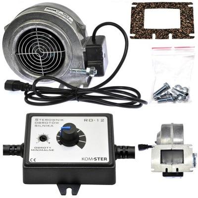 Ventilátor, dúchadlo + regulátor otáčok