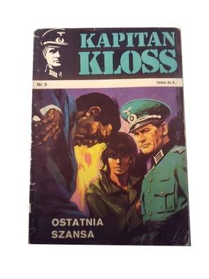 KAPITAN KLOSS 3. OSTATNIA SZANSA 1971 r. wyd. 1