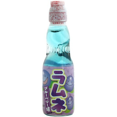 напиток Хате Ramune Ягода японский лимонад