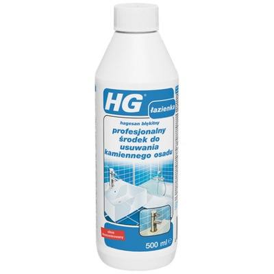 HG Hagesan do usuwania kamiennego osadu 0.5L