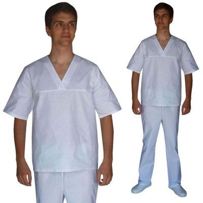 Komplet medyczny: bluza + spodnie 100% baw kr. M