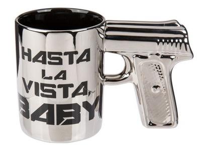 КРУЖКУ PISTOLET - HASTA LA VISTA BABY TERMINATOR 2