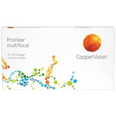 Soczewki Proclear Multifocal 3 szt. -6.00 / +2.5 D