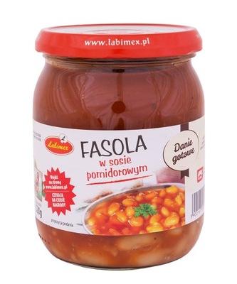 ФАСОЛЬ в томатном соусе 500?