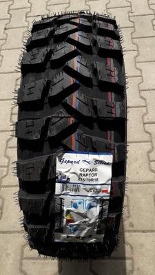 4 ШТ ШИНЫ 215/70R16 RAPTOR GEPARD КОМПЛЕКТ M+S MT