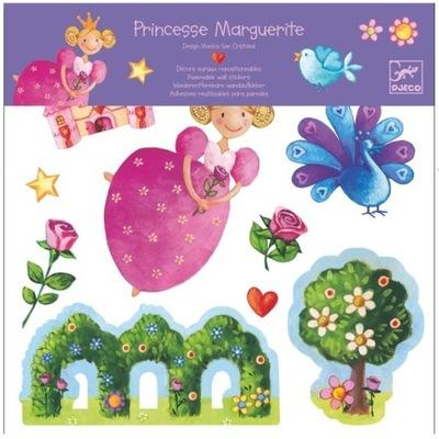 Samolepky na stenu Princess Marguerite od DJECO