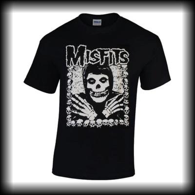 Koszulka MISFITS Czaszki punk metal horror S-5XL