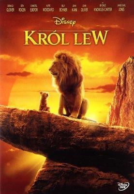 KRÓL LEW (DISNEY) (DVD) PREMIERA 27.11.2019