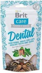 Brit Care Cat Snack Стоматологическая 50г