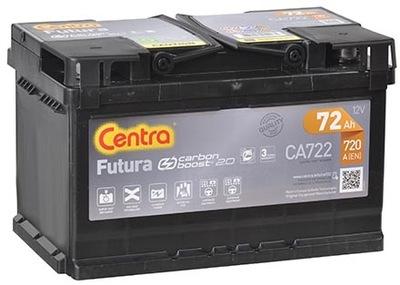 BATERÍA CENTRA FUTURA 72AH 720A CA722