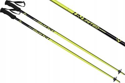 Kije kijki narciarskie FISCHER UNLIMITED 115 2020