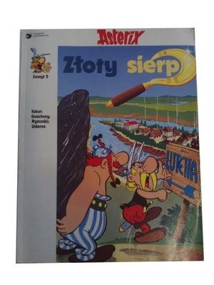 ASTERIKS - ASTERIX ZŁOTY SIERP wyd. I 1991 r.