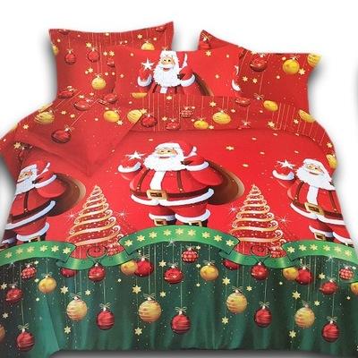 Posciel Na Boze Narodzenie 3d 160x200 4 Cz Balwan 7703291351 Oficjalne Archiwum Allegro