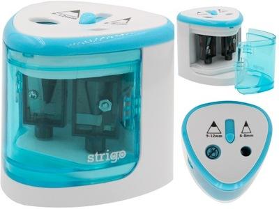 Temperówka elektryczna podwójna na baterie Strigo