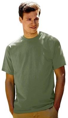 Koszulka T-shirt Fruit of the LOOM Olive XXL