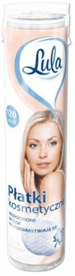LULA Płatki Kosmetyczne Do Demakijażu 120szt