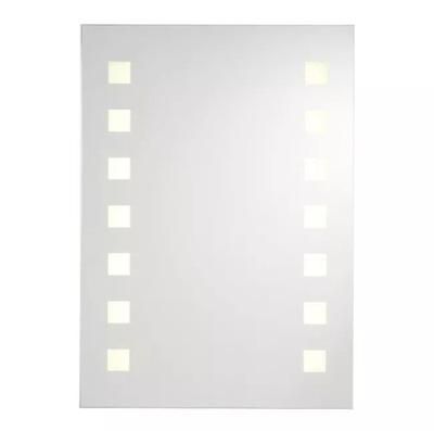 Lustro PIONOWE z Podświetleniem LED 60x50cm ZEGAR