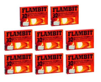 распалка ??? гриля печи камина кубик Flambit x8