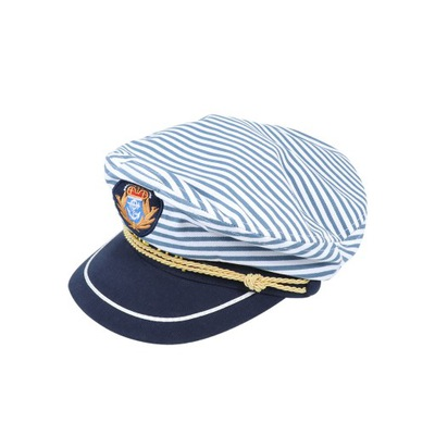 1pc czapka kapitana morskiego niebieska czapka w