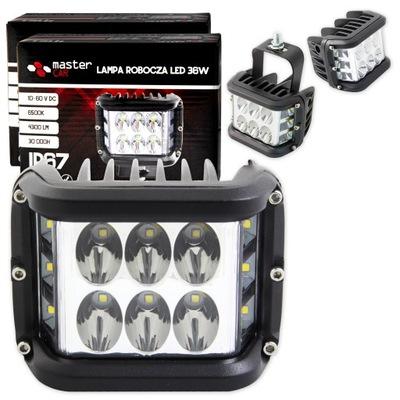 2X ФАРА ROBOCZA 36W HALOGEN SZPERACZ 12V 24V LED