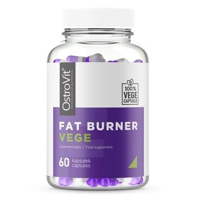 OstroVit Fat Burner VEGE 60 kaps SPALACZ TŁUSZCZU