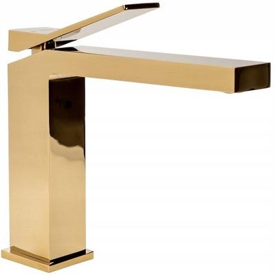DUET Gold Gold Low Basin Mixer - Rea