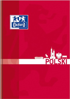 BRULION TEMATYCZNY OXFORD J.POLSKI A5 80 KARTEK
