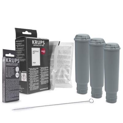 Tabletki czyszczące ekspres zestaw do Krups XS3000