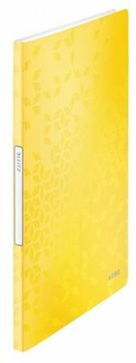 Album ofertowy Leitz Wow A4 20 koszulek żółty