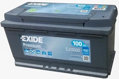 EXIDE PREMIUM FUTURA EA1000 100Ah 900A