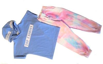 MAŁAMI Komplet spodnie multicolor bluzka 146 - 152