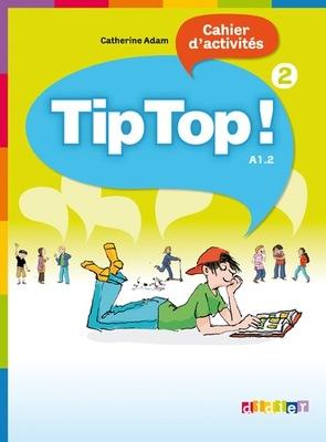 Tip Top 2 A1.2 zeszyt ćwiczeń język francuski