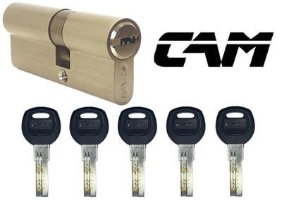 Wkładka 30/40 chrom 5 kluczy nawiercanych CAM
