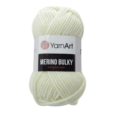 MERINO BULKY YarnArt 100g/100m Ecru 502