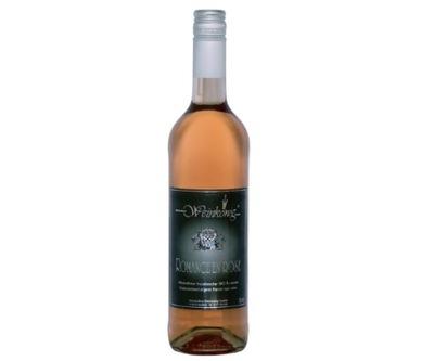 WINO BEZALKOHOLOWE różowe półwytrawne BIO 0% 750ml