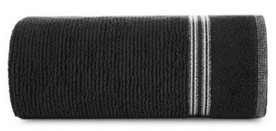 Ręcznik 50x90 Filon 11 czarny 530g/m2