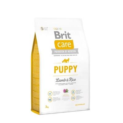 Brit Care Puppy 3kg Lamb &Rice Szczenięta 24H