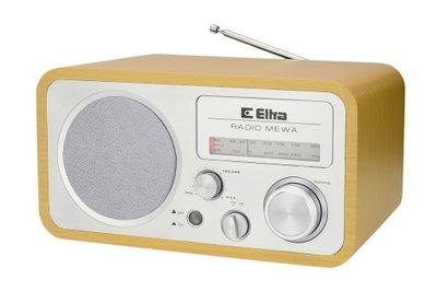 RADIO ODBIORNIK RADIOWY ELTRA MEWA BUK SREBRNY
