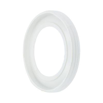 Прокладка колена туалет 110 мм белая канализационная