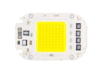 LED COB 50W 220V-230V Biała Zimna + Pasta