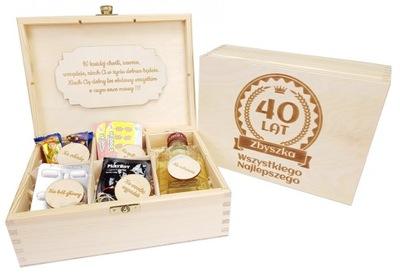 Pudełko Niezbędnik Prezent na 18 30 40 50 Urodziny