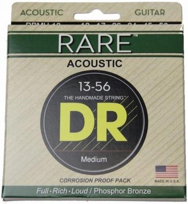 DR Strings Rare 13-56 struny do gitary akustycznej