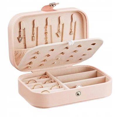 Kuferek Szkatułka Organizer Box Na Biżuterię 11A
