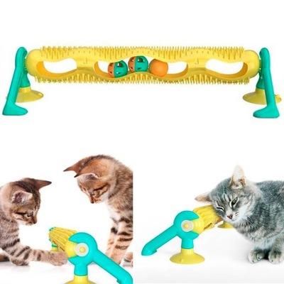 Interaktívna sklenená hračka pre tunel pre mačky