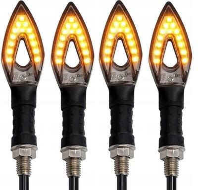 ПОВОРОТНИКИ ПОВОРОТИ STRZAŁKI 12 LED (СВЕТОДИОД ) 4 ШТУКИ