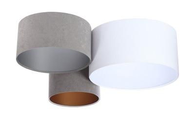 Moderné Stropné lampy Rôznych Biela Grafit Sivá
