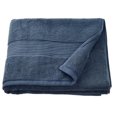IKEA FREDRIKSJON Ręcznik, granatowy 70x140 cm